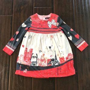Catimini jersey bubble dress